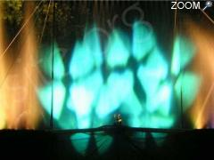 photo de SPECTACLE EAU SON ET LUMIERE LA MAGIE DE L EAU