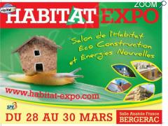 photo de HABITAT EXPO BERGERAC : Salon de l'Habitat, Eco Construction et Energies Nouvelles
