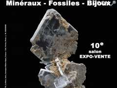 photo de 10e SALON MINERAUX FOSSILES BIJOUX